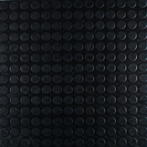 Gummigulv Artigo sort 50×50 fliser