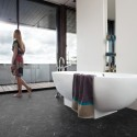 Gulvbelegg våtrom Gerbad sort marmor 1177