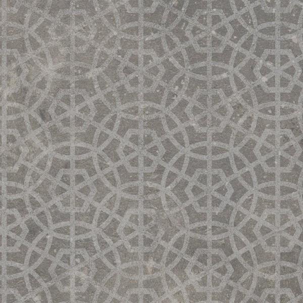 Gulvbelegg Gerbad 2116 Mandala Grey