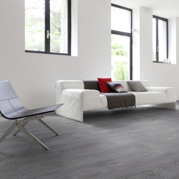 Laminatgulv med vinyltopp Largo grey